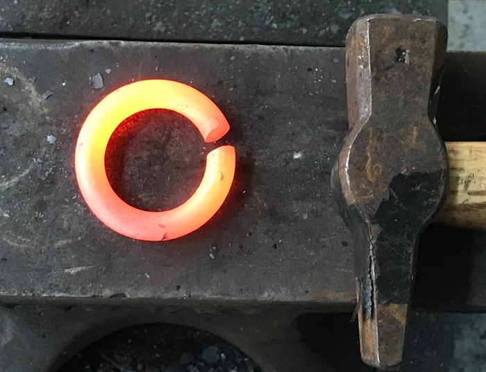 Hand Forged Rings